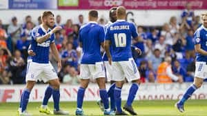 IPSWICH TOWN soccer player