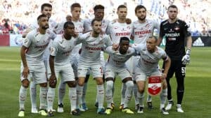 Spartak Moskwa soccer team