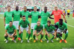 AS SAINT-ÉTIENNE soccer team