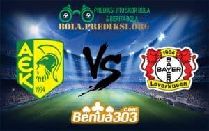 Prediksi Bola AEK LARNACA Vs BAYER LEVERKUSEN 14 Desmber 2018
