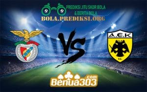 Prediksi Bola BENFICA Vs AEK ATHENS 13 Desember 2018
