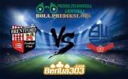 Prediksi Bola BRENTFORD FC Vs BOLTON WANDERERS FC 22 Desember 2018