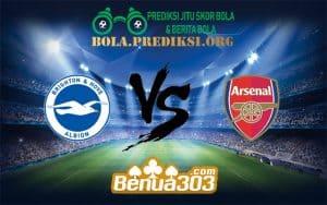 Prediksi Bola BRIGHTON & HOVE ALBION FC Vs ARSENAL FC 27 Desember 2018