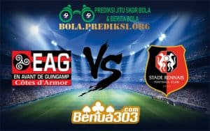 Prediksi Bola EN AVANT GUINGAMP Vs STADE RENNAIS FC 16 Desember 2018