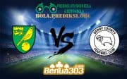 Prediksi Bola NORWICH CITY FC Vs DERBY COUNTY FC 29 Desember 2018