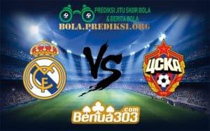 Prediksi Bola REAL MADRID Vs CSKA MOSKWA 12 Desember 2018