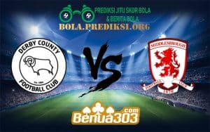 Prediksi Skor Derby Country FC Vs Middlesbrouugh FC 1 Januari 2019