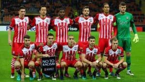 SOUTHAMPTON FC soccer team 2018`