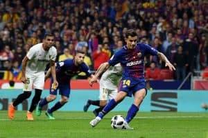 barcelona fc soccer team 2018