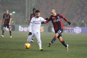 Bologna FC soccer team 2018