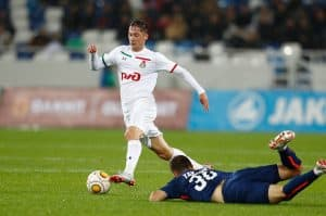 lokomotiv moscow fc soccer team 2018