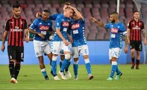 napoli fc soccer team 2018