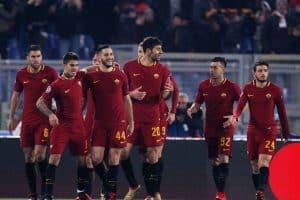 roma fc soccer team 2018