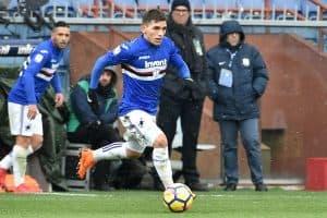 sampdoria fc soccer team 2018