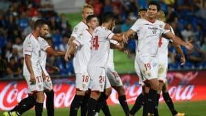 sevilla fc soccer team 2018