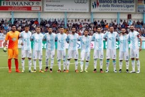 virtus entella soccer team