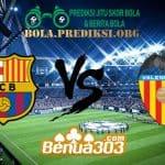 Prediksi Skor Barcelona Vs Valencia 3 Februari 2019