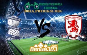 Prediksi Skor Birmingham City FC Vs Middlesbrough FC 12 Januari 2019