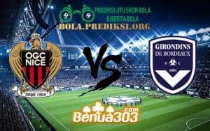 Prediksi Skor OGC Nice Vs FC Girondins de Bordeaux 13 Januari 2019