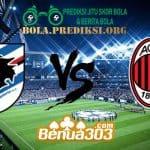 Prediksi Skor Sampdoria Vs Milan 13 Januari 2019