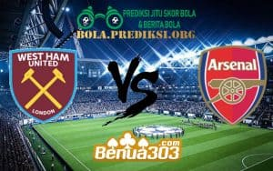 Prediksi Skor West Ham United FC Vs Arsenal FC 12 Januari 2019`