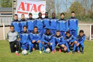 Sannois-St-Gratien soccer team 2018