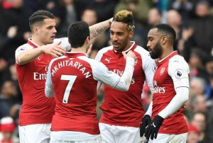 foto team ARSENAL