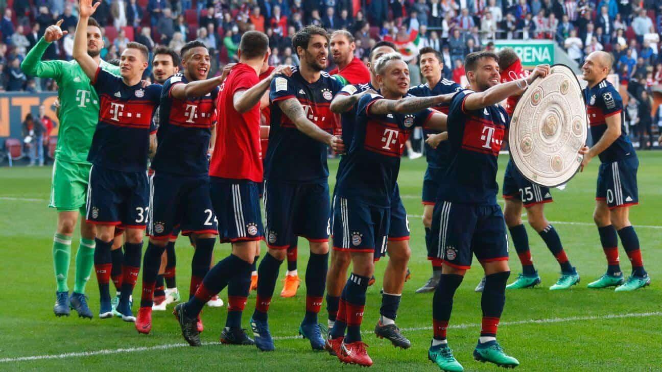 AUGSBURG soccer team