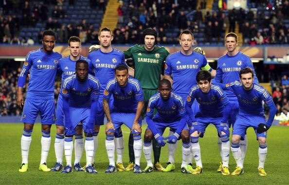 CHELSEA FC soccer team