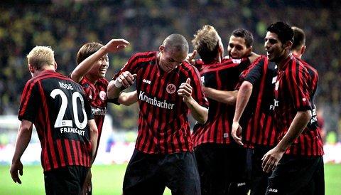 EINTRACHT FRANKFURT soccer team