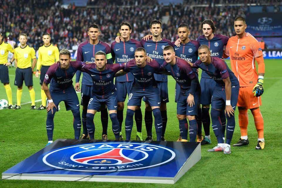 Paris saint germain soccer team