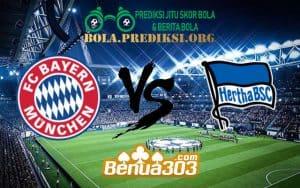 Prediksi Skor Bayern Munich Vs Hertha BSC 23 Februari 2019