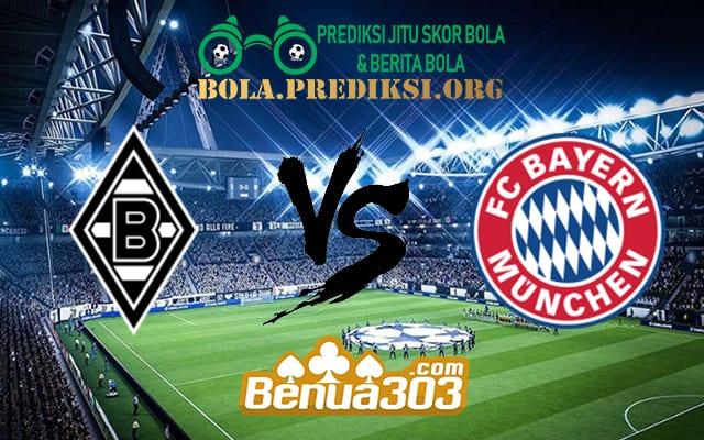Prediksi Skor Borussia M'Gladbach Vs Bayern Munich 3 Maret 2019