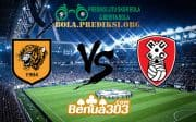 Prediksi Skor HULL CITY Vs ROTHERHAM UNITED 13 Februari 2019