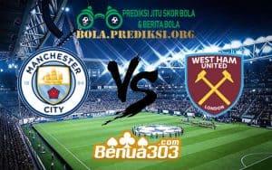 Prediksi Skor Manchester City FC Vs West Ham United FC 28 Februari 2019