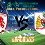 Prediksi Skor Middlesbrough Vs Bristol City 3 April 2019