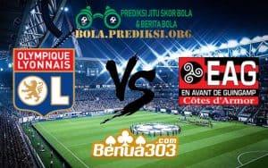 Prediksi Skor Olympique Lyonnais Vs En Avant Guingamp 16 Februari 2019