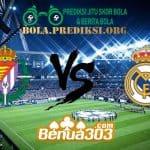Prediksi Skor Real Valladolid Vs Real Madrid 11 Maret 2019