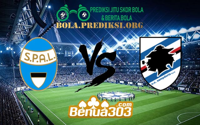 Prediksi Skor SPAL Vs Sampdoria 3 Maret 2019