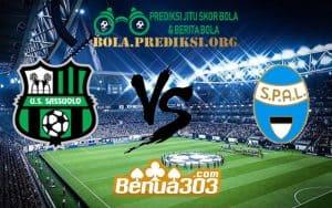Prediksi Skor Sassuolo Vs SPAL 24 Februari 2019