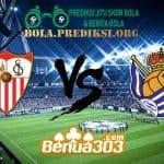 Prediksi Skor Sevilla Vs Real Sociedad 11 Maret 2019