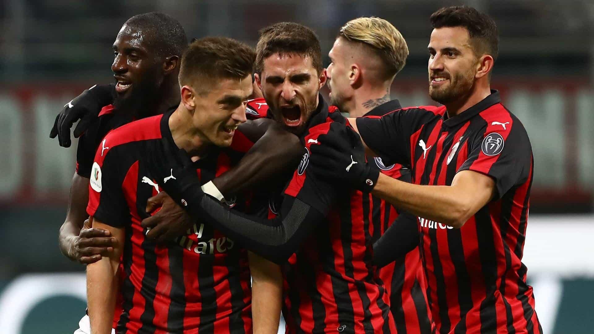 ac milan fc soccer team 2019
