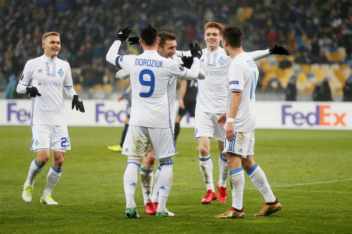 dynamo kyiv fc soccer team 2019