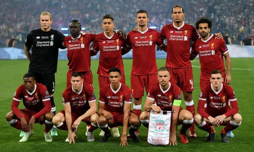 liverpool fc soccer team