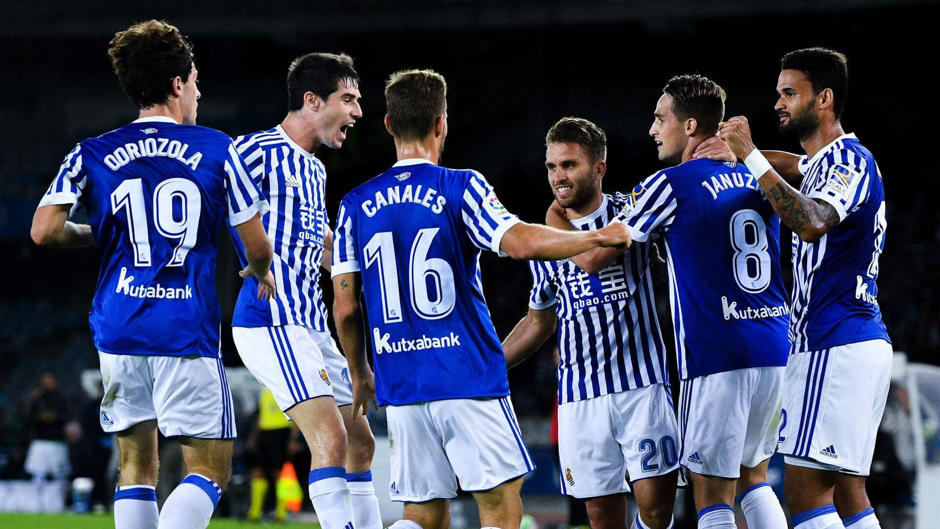 real sociedad fc soccer team 2019