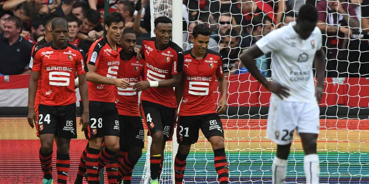 stade de Rennais fc soccer team 2019