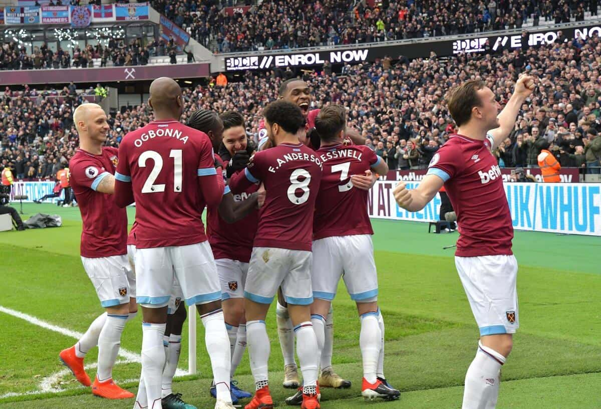 west ham united fc soccer team 2019
