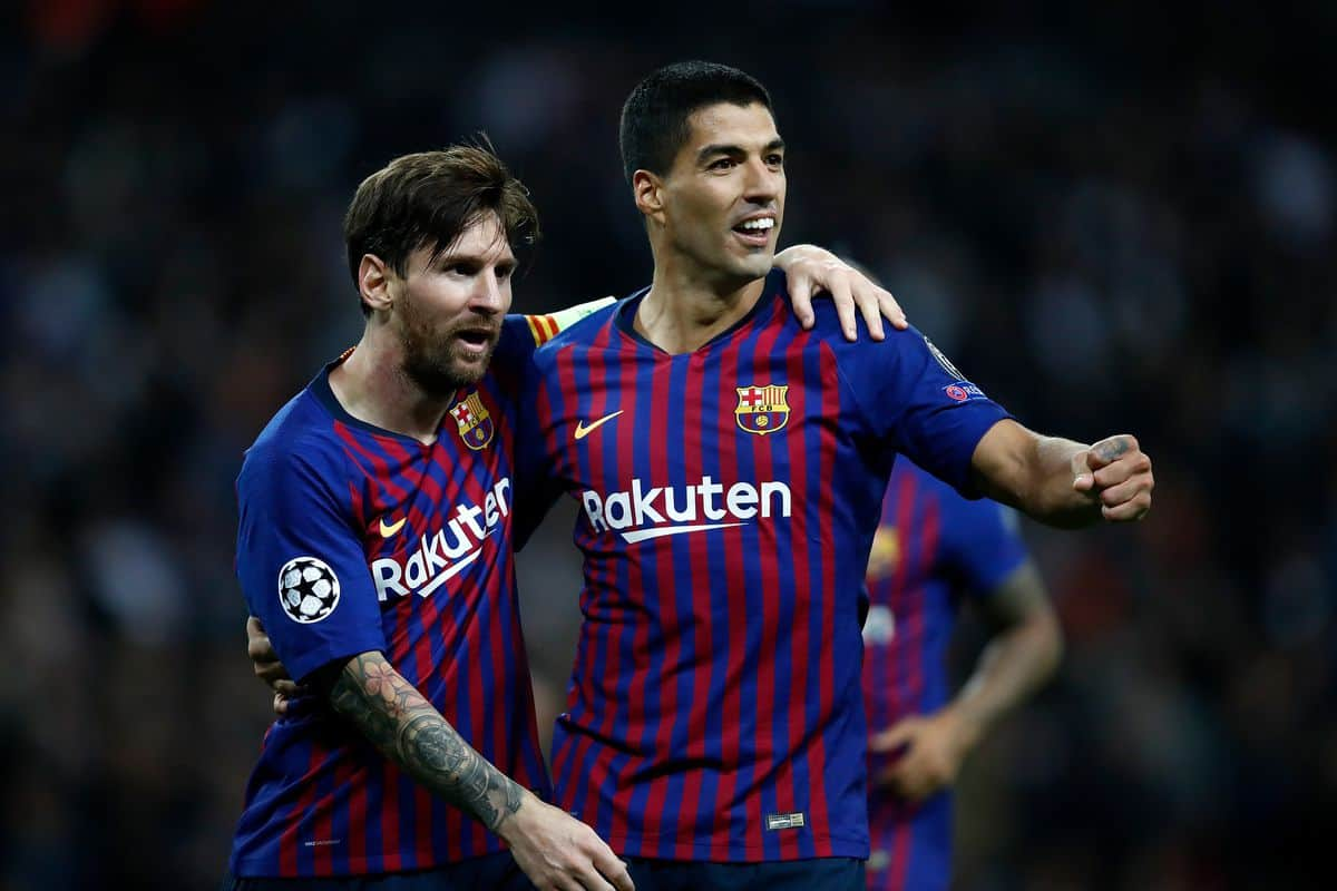 BARCELONA FC SOCCER TEAM 2019