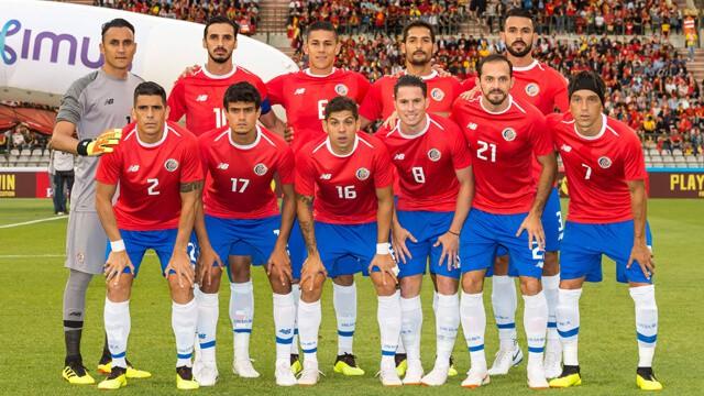 Costa Rica soccer team 2019