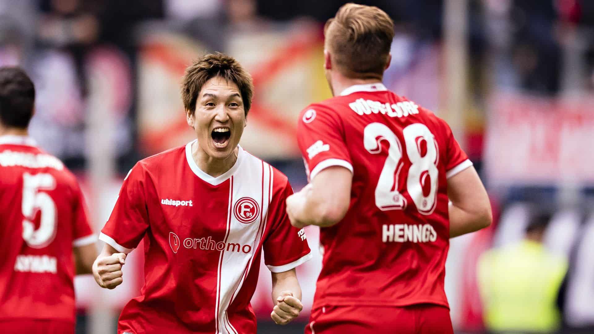Fortuna Düsseldorf soccer team 2019